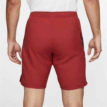 Nike Court Dry Short - Team Crimson/Black