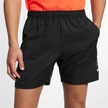 Nike Court Dry 7 Inch Short - Black/White