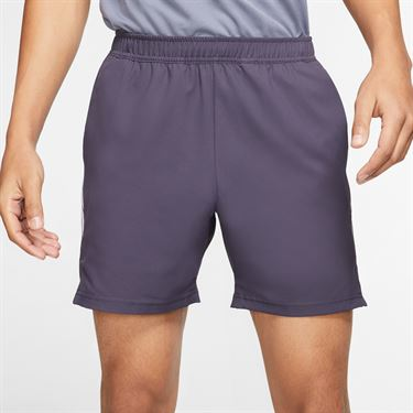 Nike Court Dry 7 inch Short Mens Gridiron/White 939273 015