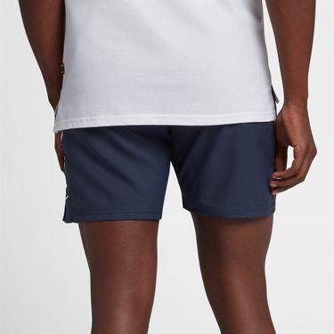 Nike Court Dry 7 Inch Short - Obsidian/White