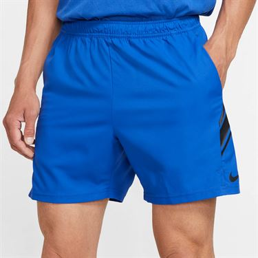 Nike Court Dry 7 inch Short Mens Royal Game/Black 939273 480