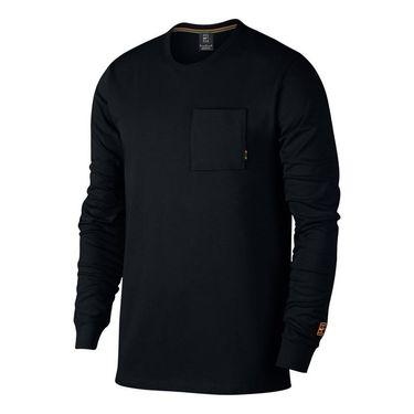 Nike Court Heritage Long Sleeve - Black/White
