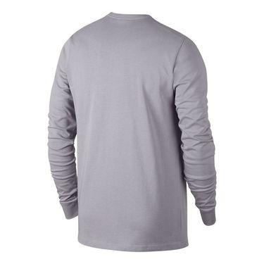 Nike Court Heritage Long Sleeve - Provence Purple/White