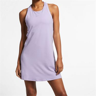 Nike Court Dry Dress - Oxygen Purple/White