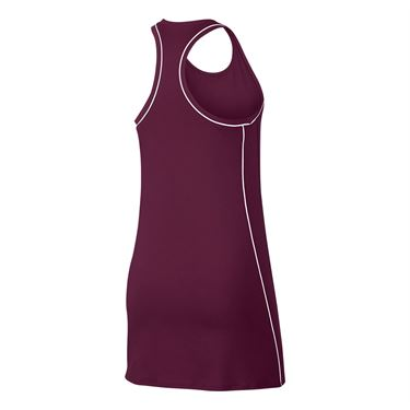 Nike Court Dry Dress - Bordeaux/White