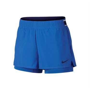 Nike Court Flex Short - Signal Blue/Blue Void