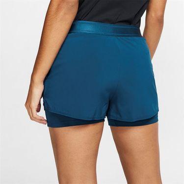 Nike Court Flex Short Womens Valerian Blue/White 939312 432
