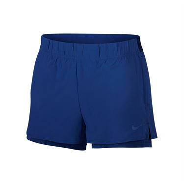 Nike Court Flex Short - Indigo Force/Topaz Mist