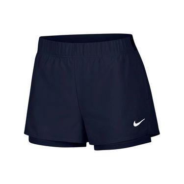 Nike Court Flex Short Womens Obsidian/White 939312 452