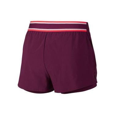 Nike Court Flex Short - Bordeaux/Bright Crimson