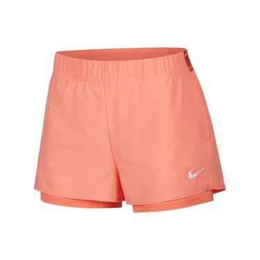 Nike Court Flex Short Womens Sunblush/White 939312 655