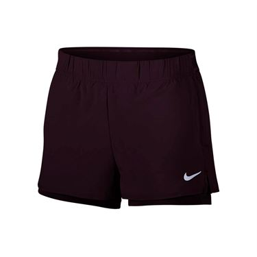 Nike Court Flex Short - Burgundy Ash