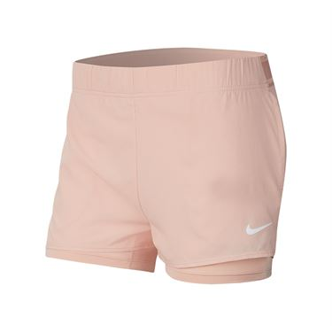 Nike Court Flex Short Womens Washed Coral/White 939312 664
