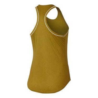 Nike Court Dry Tank - Peat Moss/White