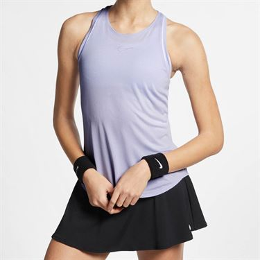 Nike Court Dri Fit Tank - Oxygen Purple/White
