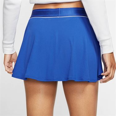 Nike Court Dri Fit Skirt Womens Game Royal/White 939318 480