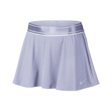 Nike Court Dry Flounce Skirt - Oxygen Purple/White
