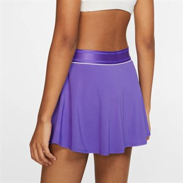 Nike Court Flouncy Skirt - Psychic Purple/White
