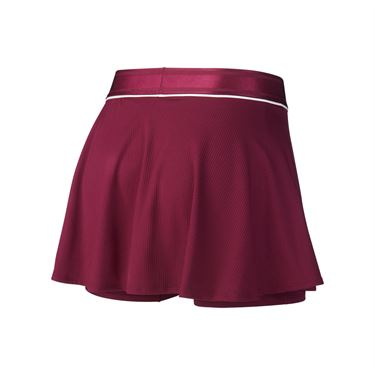 Nike Court Dri Fit Skirt Womens Bordeaux/White 939318 609