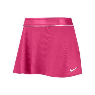 Nike Court Dri Fit Skirt Womens Vivid Pink/White 939318 616