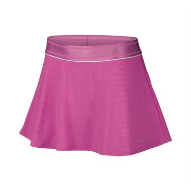 Nike Court Dry Flouncy Skirt Tall - Active Fuchsia/White