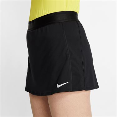 Nike Court Dri Fit Skirt Tall Womens Black 939320 013T