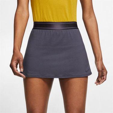 Nike Court Dry Skirt - Gridiron/White