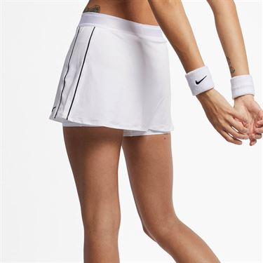 Nike Court Dry Skirt - White/Black