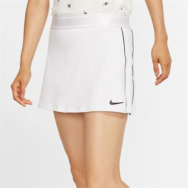 Nike Court Dri Fit Skirt Womens White/Black 939320 102