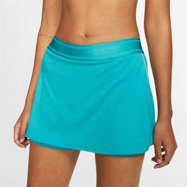 Nike Court Dry Skirt - Teal Nebula/White