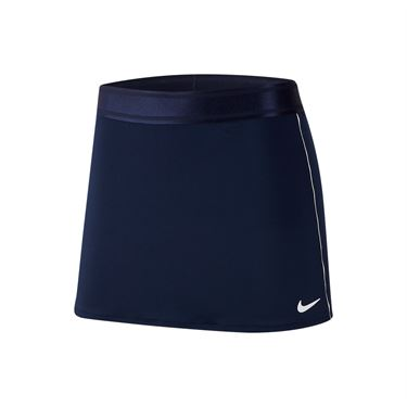 Nike Court Dry Skirt - College Navy/White