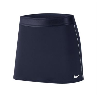 Nike Court Dri Fit Skirt Womens College Navy/White 939320 421