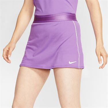 Nike Court Dri Fit Skirt Womens Purple Nebula/White 939320 532