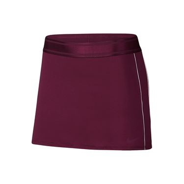 Nike Court Dry Skirt - Bordeaux/White