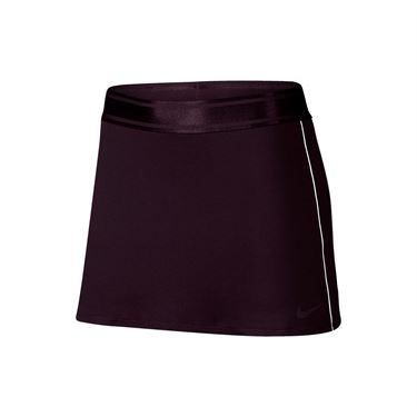 Nike Court Dry Skirt Tall - Burgundy Ash/White