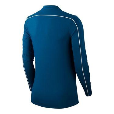Nike Court Dry 1/2 Zip Long Sleeve Top Womens Valerian Blue/White 939322 432