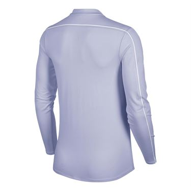 Nike Court Dry 1/2 Zip Top - Oxygen Purple/White