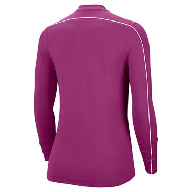 Nike Court Dry 1/2 Zip Long Sleeve Top Womens Cactus Flower/White 939322 564