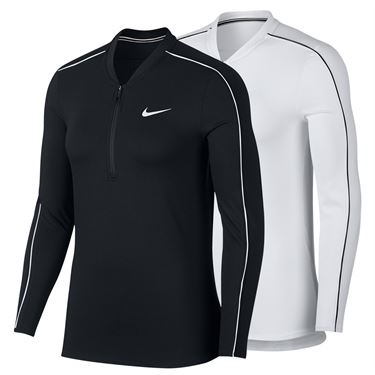 Nike Court Dry Long Sleeve 1/2 Zip Top