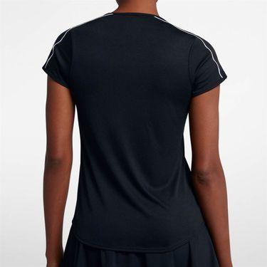 Nike Court Dry Top - Black/White