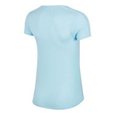 Nike Court Dry Top - Topaz Mist/White