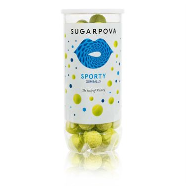 Sugarpova Sporty Tennis Ball Gum Green Can