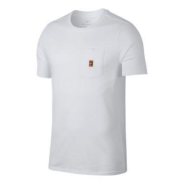 Nike Court Heritage Pocket Tee - White