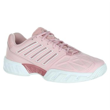 K Swiss Bigshot Light 3 Womens Tennis Shoe - Coral Blush/White