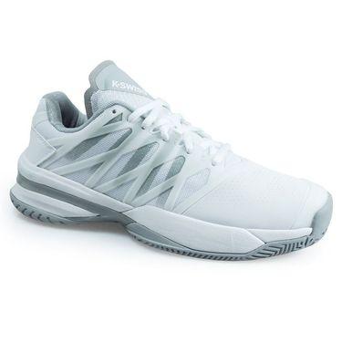 K Swiss Ultrashot Womens Tennis Shoe - White/ High Rise 95648 107 M
