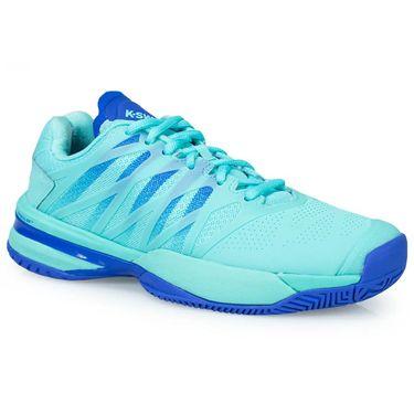 K Swiss Ultra Shot Womens Tennis Shoe - Aruba Blue/Dazzling Blue