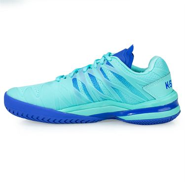 K Swiss Ultra Shot Womens Tennis Shoe - Aruba Blue/Dazzling Blue