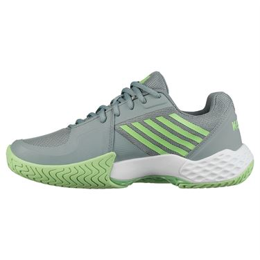 K Swiss Aero Court Womens Tennis Shoe - Abyss/Paradise Green