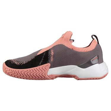 K Swiss Aero Knit Womens Tennis Shoe - Plum Kitten/Coral Almond/White