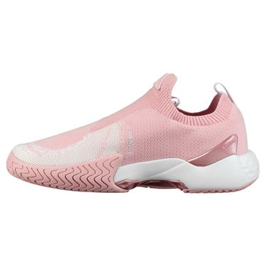 K Swiss Aero Knit Womens Tennis Shoe - Coral Blush/White
